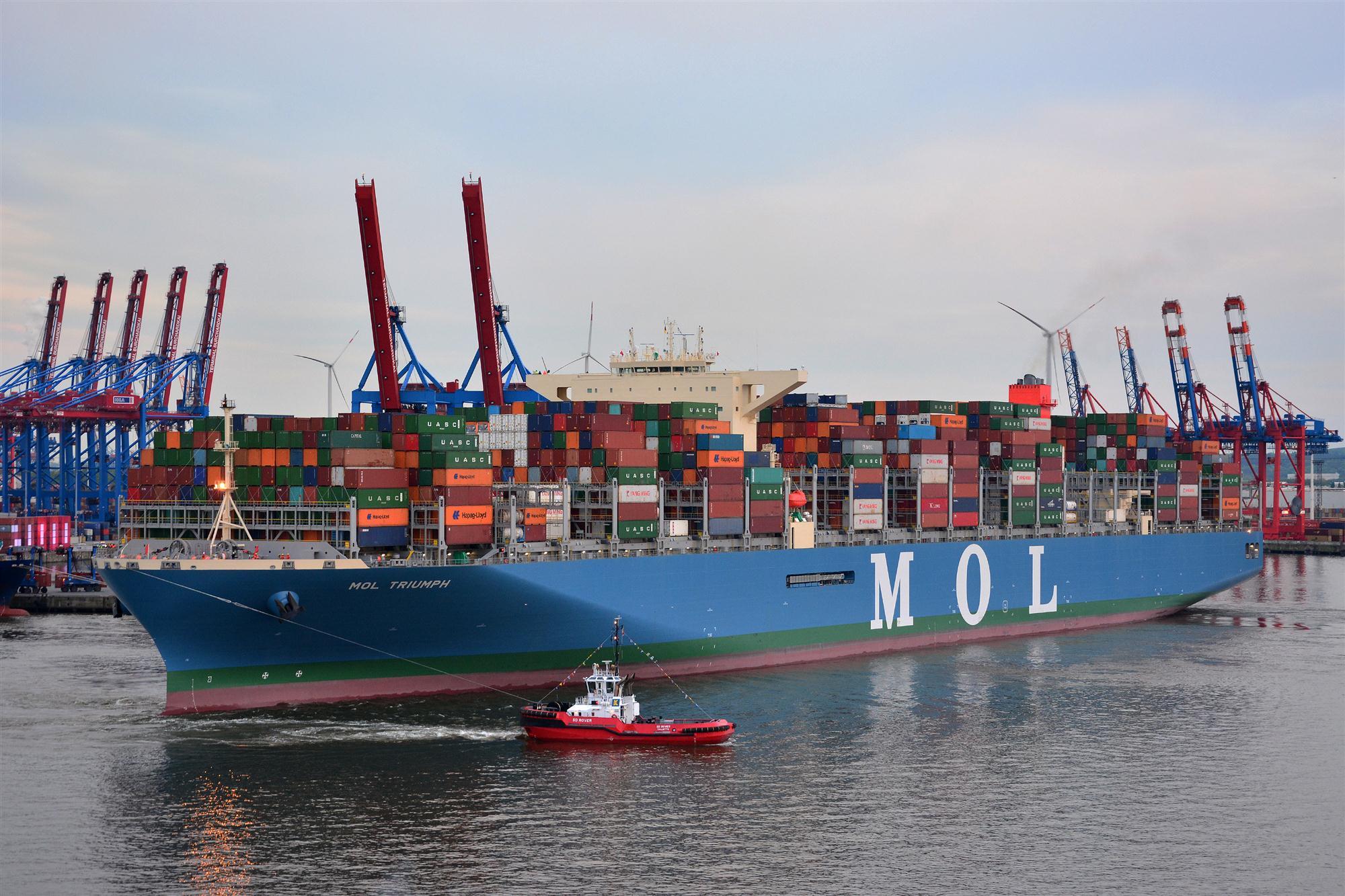 Self Photos / Files - MOL Triumph Hamburg